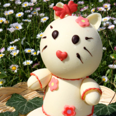Hello Kitty - personnage en chocolat